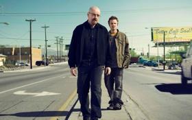 Картинка дорога, кадр, сериал, триллер, персонажи, Во все тяжкие, Breaking Bad