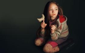 Обои девочка, digital art, illustration, Jodelle Ferland, Страна приливов, tideland