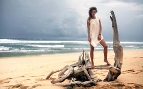 Картинка пляж, прибой, Bali, Yuliana