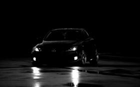 Обои чёрный, тачки, чёрно-белая, lexus, cars, лексус, auto wallpapers