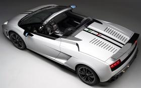 Обои авто, Lamborghini, суперкар, Gallardo, Spyder, спайдер, галлардо
