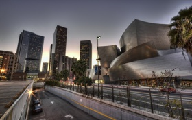 Обои california, Лос-Анджелес, калифорния, usa, los angeles, walt disney concert hall
