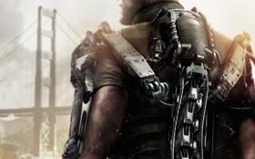 Обои Мост, Солдат, Экзоскелет, Военный, Activision, Экипировка, Sledgehammer Games