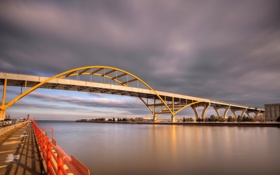 Картинка Hoan Bridge, United States, Historic Third Ward, Wisconsin, Milwaukee
