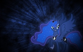 Обои фон, пони, My little pony, Luna