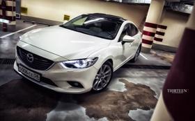 Обои машина, авто, фотограф, Mazda, auto, photography, photographer