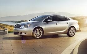 Картинка лучи, свет, машины, утро, Buick, бьюик, Verano