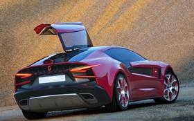 Картинка авто, вид сзади, Giugiaro Brivido, ItalDesign, итальянский дизайн