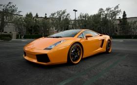 Обои здания, галлардо, фонарь, оранжевый, orange, lp560-4, parking