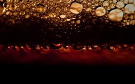 Картинка пена, пузыри, напиток, кола