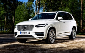 Обои Volvo, XC90, вольво, UK-spec, 2015, Inscription