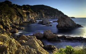 Обои Spain, Costa Brava, Tossa de Mar