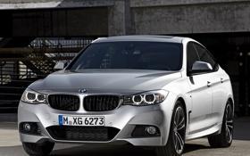 Обои фары, BMW, автомобиль, 335i, передок, Gran Turismo, M Sports Package