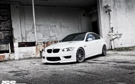Обои BMW, e92, ISS forged