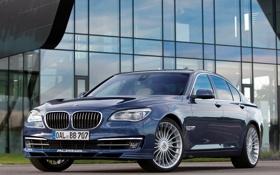 Обои Синий, BMW, БМВ, Alpina, Bi-Turbo