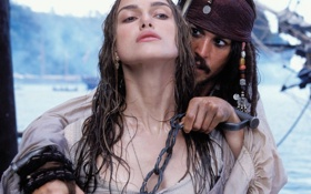 Обои пираты карибского моря, pirates of the caribbean, шантаж