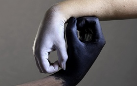 Картинка фон, знак, руки