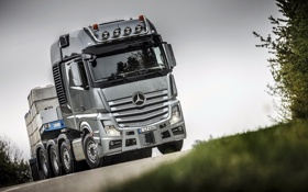 Картинка Mercedes-Benz, грузовик, MP4, мерседес, 2013, 8x4, Actros