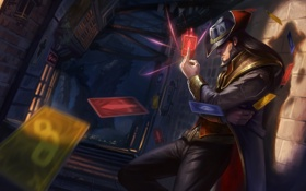 Картинка League of Legends, Лига Легенд, Twisted Fate