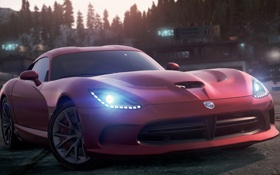 Обои Dodge, 2012, Most Wanted, Need for speed, SRT Viper GTS