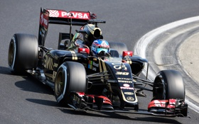 Обои Jolyon Palmer, E23, Lotus, Formula 1, Test and Reserve Driver
