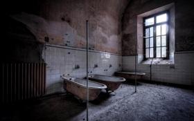 Картинка окно, ванны, комната