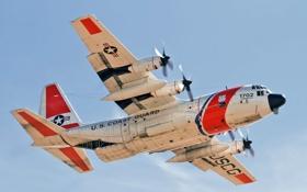 Картинка авиация, самолёт, US Coast Guard HC-130