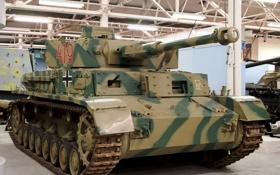 Обои танк, музей, немецкий, средний, WW2, D/H, Panzer IV Ausf