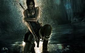 Картинка девушка, Tomb Raider, Лара Крофт