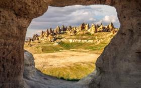 Картинка горы, скалы, Турция, Каппадокия