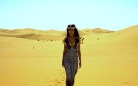 Картинка пустыня, долина, Королева, пески, Клеопатра, нефертити, Египетская