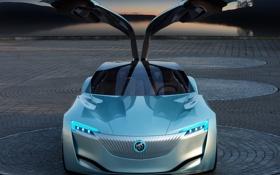 Обои авто, Concept, двери, концепт, Riviera, Buick