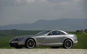 Обои камни, Mercedes, фото, тачки, машины, Mclaren SLR 722 Edition, пейзажи