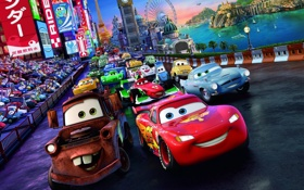 Обои sport, Pixar, Lightning, spy, racing, Тачки 2, Cars 2