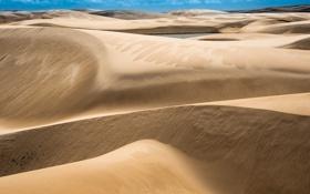 Картинка песок, небо, дюны