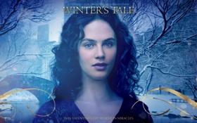 Обои зима, нью-йорк, jessica brown findlay, beverly penn, winters tale, любовь сквозь время, джессика браун финдли
