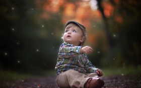 Обои волшебство, ребенок, рубашка, красивый, beautiful, pretty, boy