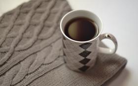 Обои зима, тепло, кофе, чашка, уютно