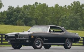 Картинка car, Автомобиль, Pontiac GTO, Ram Air IV, Judge Convertible