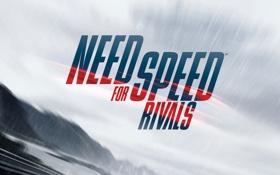 Обои минимализм, гонки, название, Need for Speed Rivals