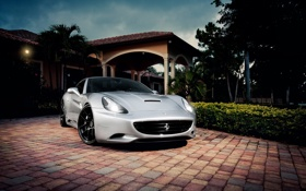 Обои тачки, california, ferrari, феррари, cars, auto wallpapers, авто обои