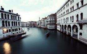 Обои italy, gondolas, venezia