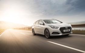 Картинка Hyundai, универсал, UK-spec, Wagon, 2015, хундай, i40