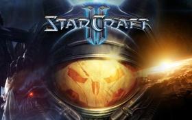 Картинка космос, война, солдат, широкоформатные, Star Craft 2, Сара Керриган, королева зергов