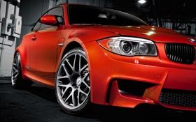 Обои машины, обои, BMW, тачки, auto, ораньжевый, сars