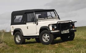 Картинка Великобритания, Land Rover, Внедорожник, Defender, Ленд Ровер