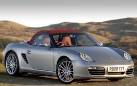 Картинка Porsche, порше, красивый, передок, Boxtser S, RS 60 Spyder