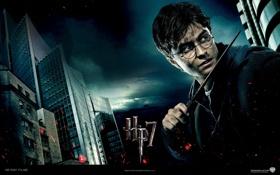 Обои Гарри Поттер и Дары Смерти, премьера, фильм, Harry Potter and The Deathly Hallows