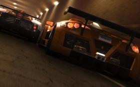 Обои гонка, видеоигра, TDU2, суперкары