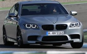 Картинка машина, фары, BMW, передок, Competition Package